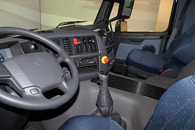 Řidičský simulátor autobusu a nákladního vozidla